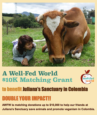 A Well-Fed World offers matching grant up to $10,000