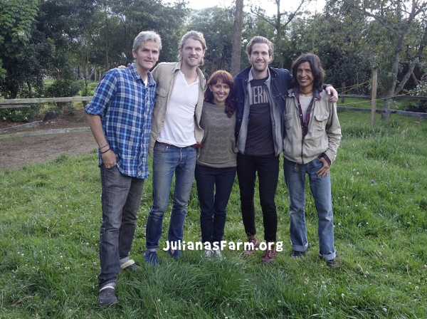 Mark Pontius and Phil Danyew of Foster the People visit our Sanctuary.