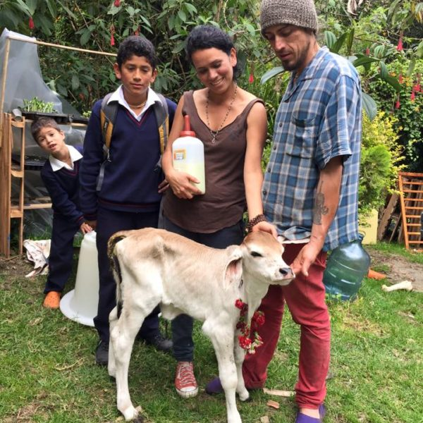 Nandini and her new family