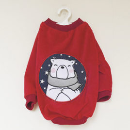 Saco navideño Diseño Oso Polar