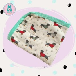 Soft Blanket Dogs printing