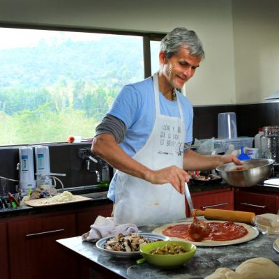 Paul in the kitchen*